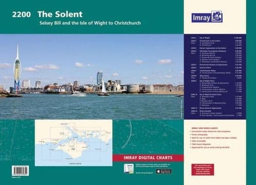 Imray 2200 Solent Chart Pack